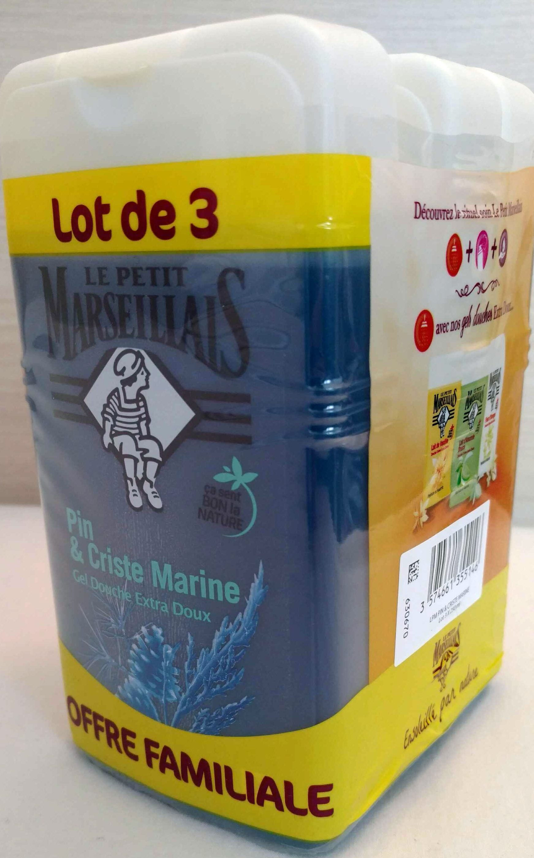Pin & Criste Marine (lot de 3) - Product
