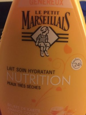 Lait soin hydratant - Product