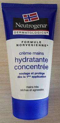Crème mains hydratante concentrée - Produit