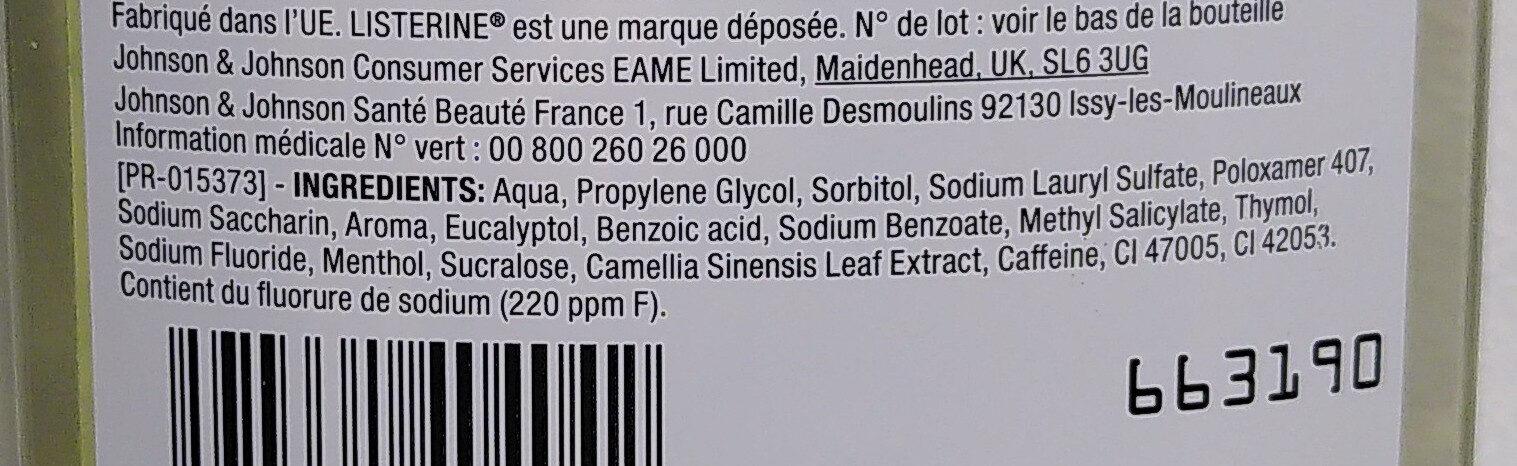 Anti-caries - Ingredients - en
