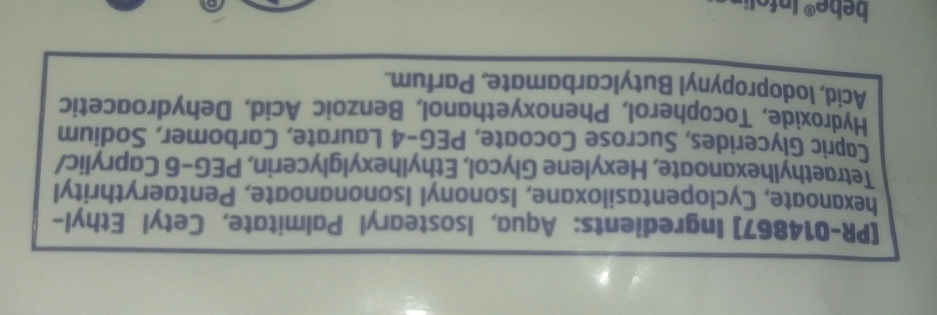 bebe 5in1 Erfrischende Reinigungstücher - Ingrédients - de