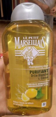 Shampoing doux purifiant à l'ortie blanche et au citron - Produit - fr