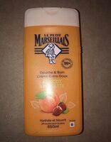 Douche & bain crème extra douc abricot & noisettes - Product - en