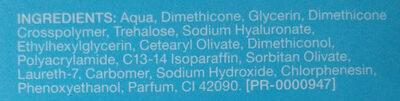 Hydro Boost Aqua Gel - Ingrédients - de