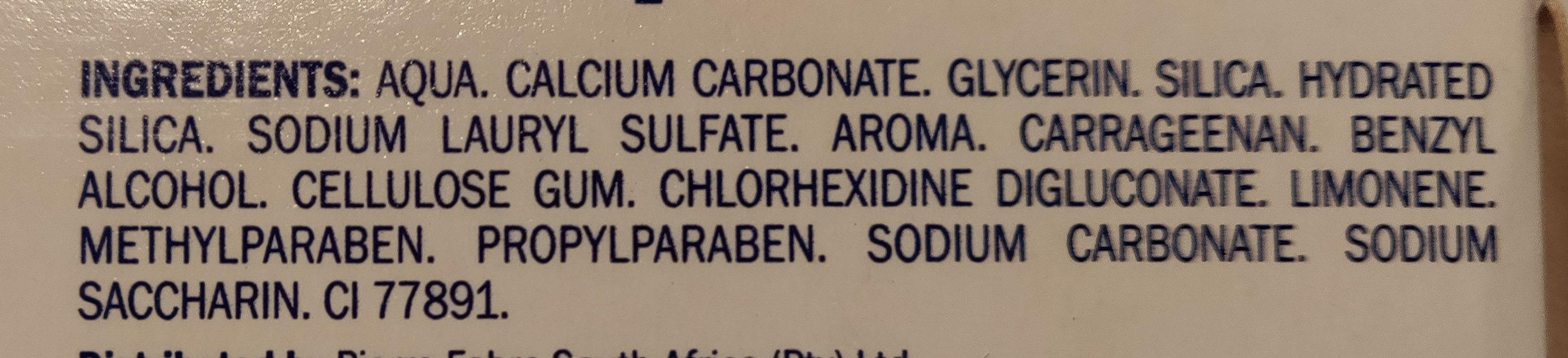 Elgydium Toothpaste Calcium Carbonate - Chlorhexidine - Ingredients - en