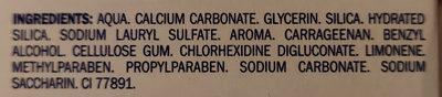 Elgydium Toothpaste Calcium Carbonate - Chlorhexidine - Ingrédients