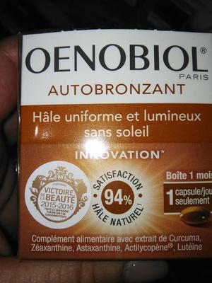Autobronzant - Product - fr