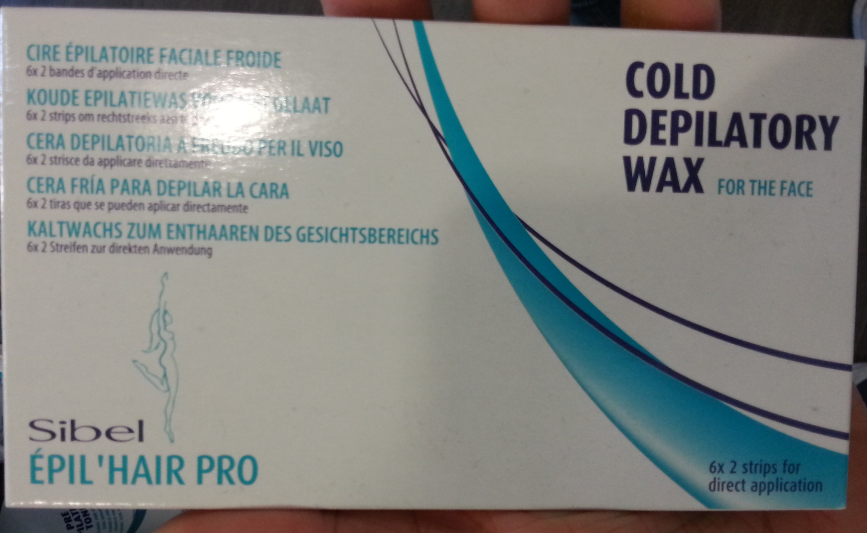 Cold Depilatory Wax for the face - Product