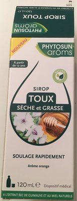 Sirop Toux sèche et grasse - Produit