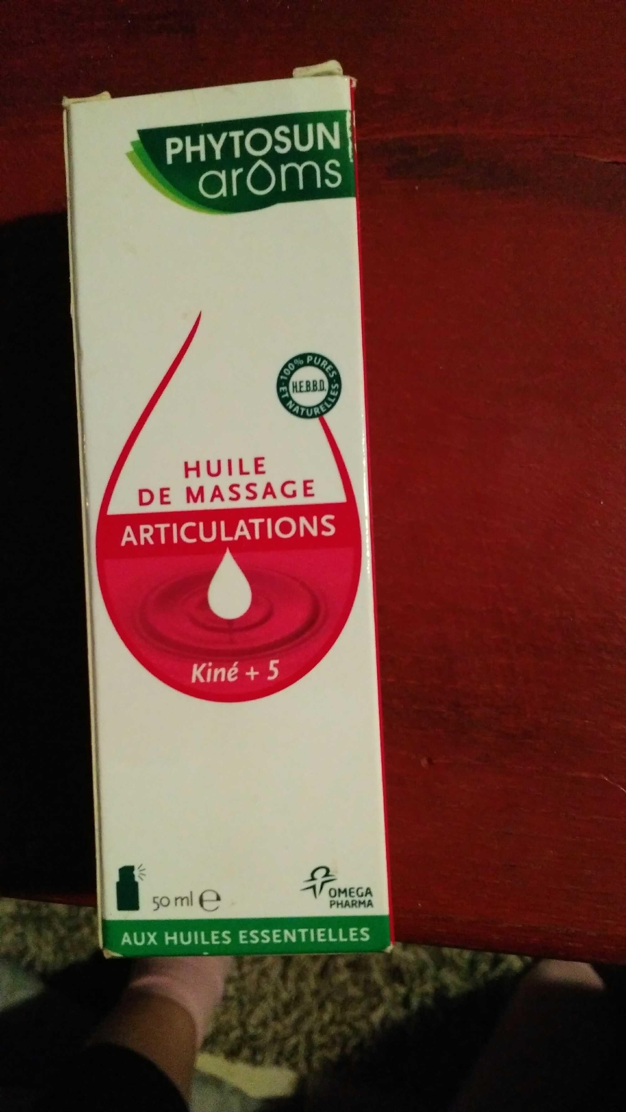 Huile de massage articulations - Product - fr
