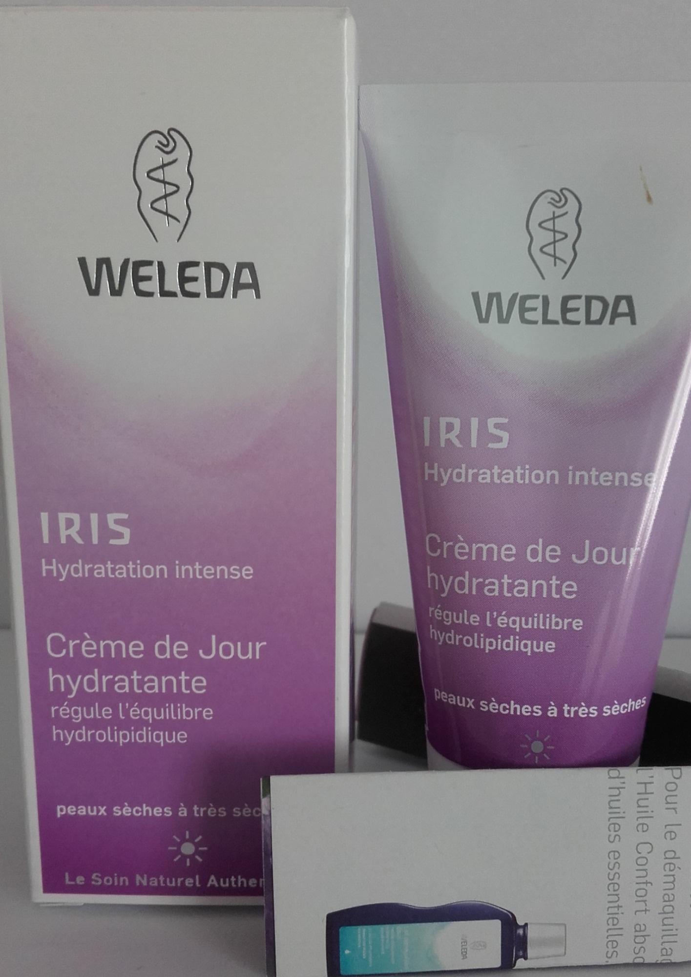 Iris Crème de jour hydratante - Produit - fr