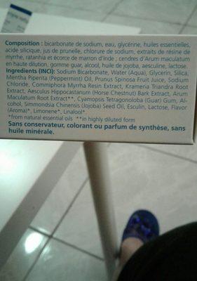 >dentifrice Salin Duo - 2 75 ML - Weleda - Ingrédients - fr