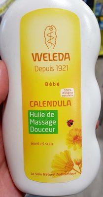 Weleda Bébé Calendula - Huile de Massage Douceur - Produit