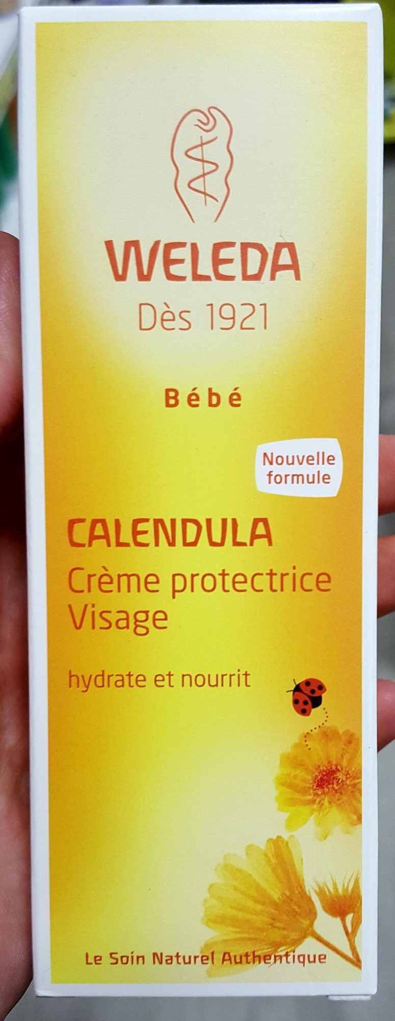 Weleda Bébé Calendula - Crème protectrice Visage - Produit - fr
