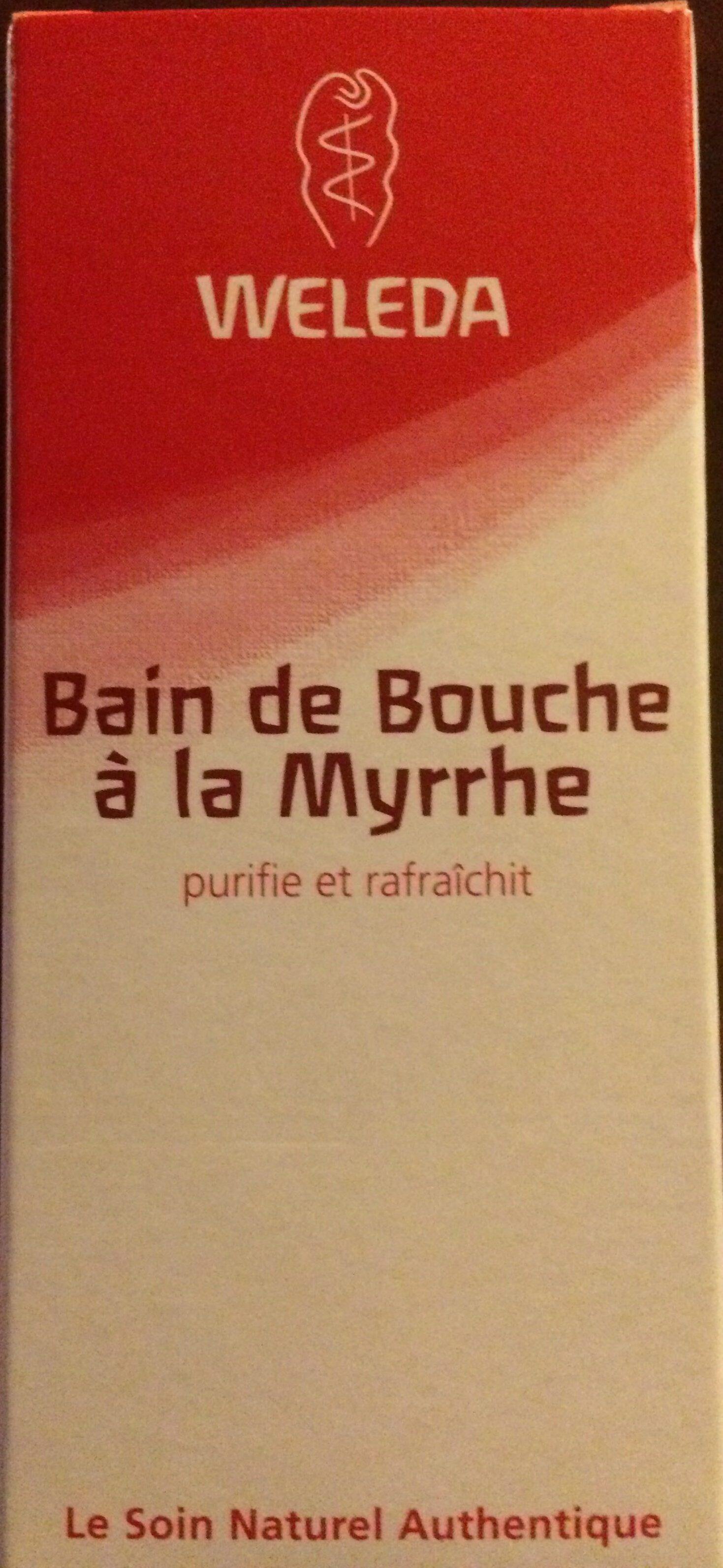 Bain de Bouche à la Myrrhe - Produit