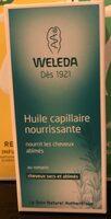 Huile capillaire nourrissante - Product