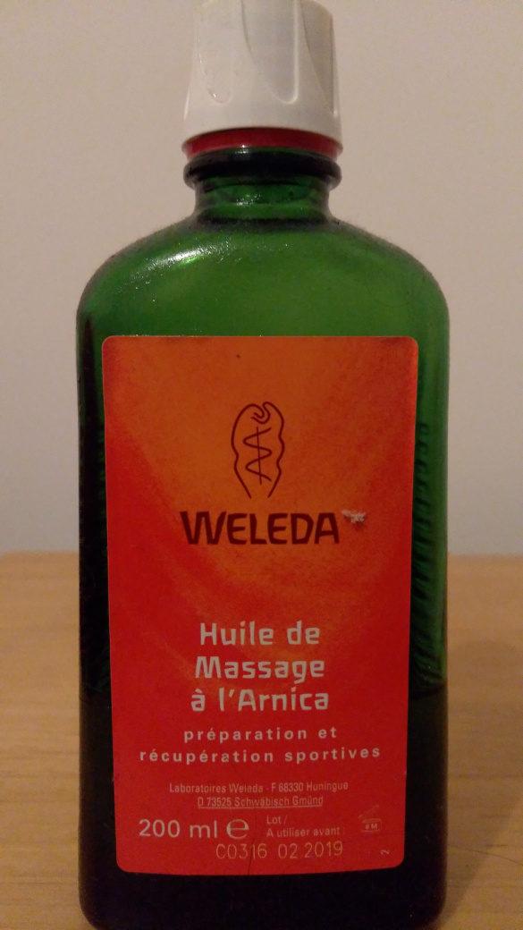 Huile de massage à l'arnica - Produit - fr