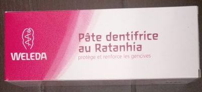 Weleda - Pâte dentifrice au Ratanhia - Product