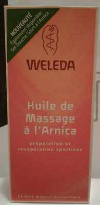 Huile de massage à l'arnica - Product