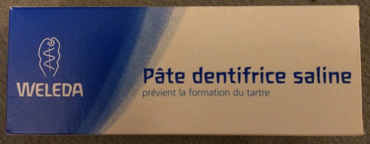 Pâte dentifrice saline - Product - fr