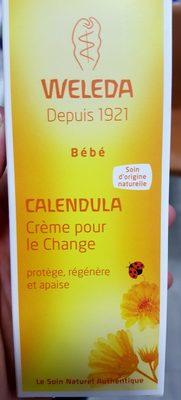 Weleda Bébé Calendula - Crème pour le change - Produit
