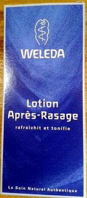 Lotion après rasage - Produit