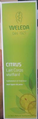 Lait corps vivifiant Citrus - Product - fr