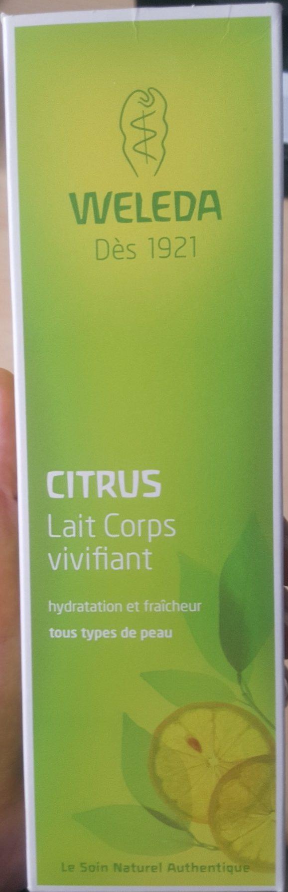 Lait corps vivifiant Citrus - Produit - fr