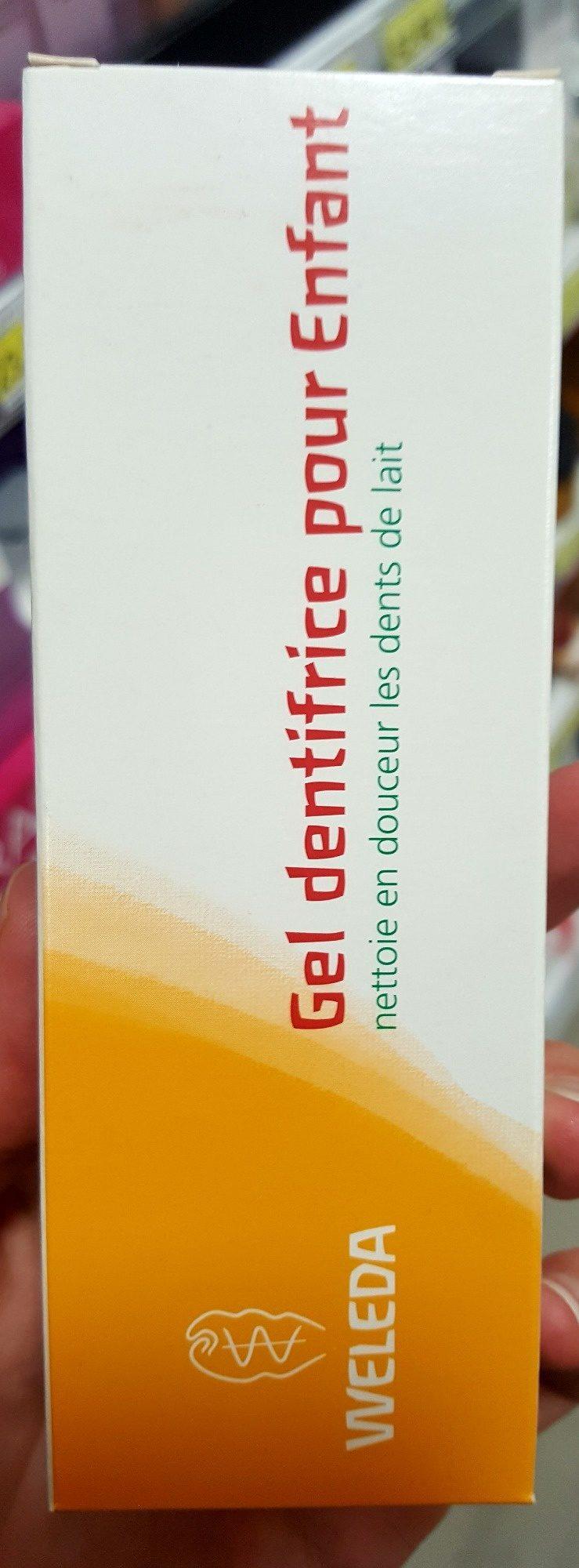 Gel dentifrice pour Enfant - Product