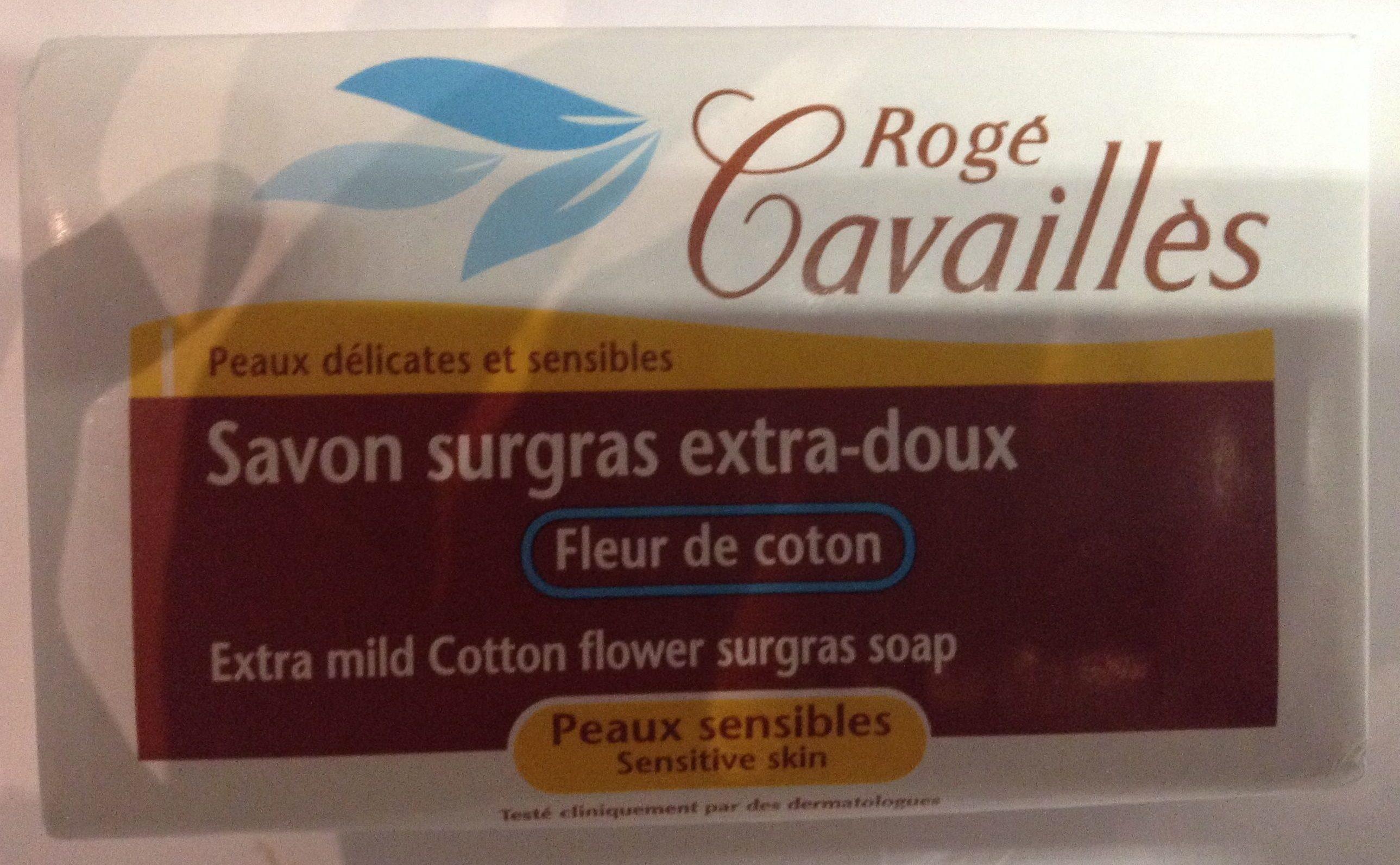 Savon surgras extra-doux Fleur de coton - Product