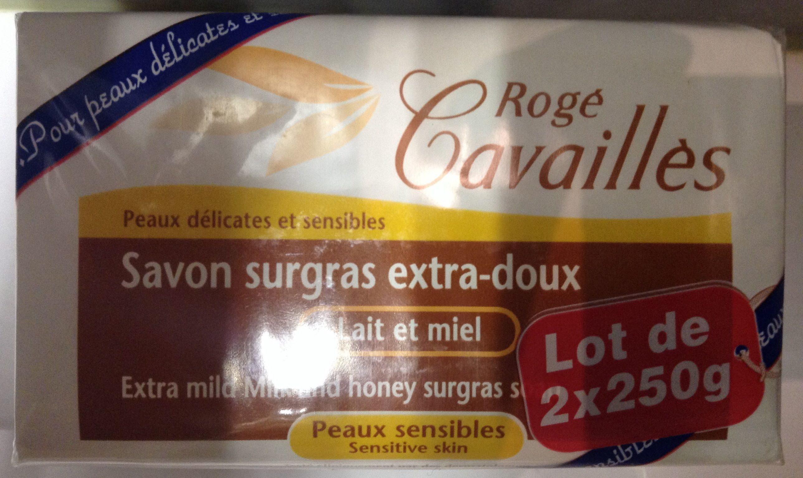 Savon surgras Lait et miel - Product