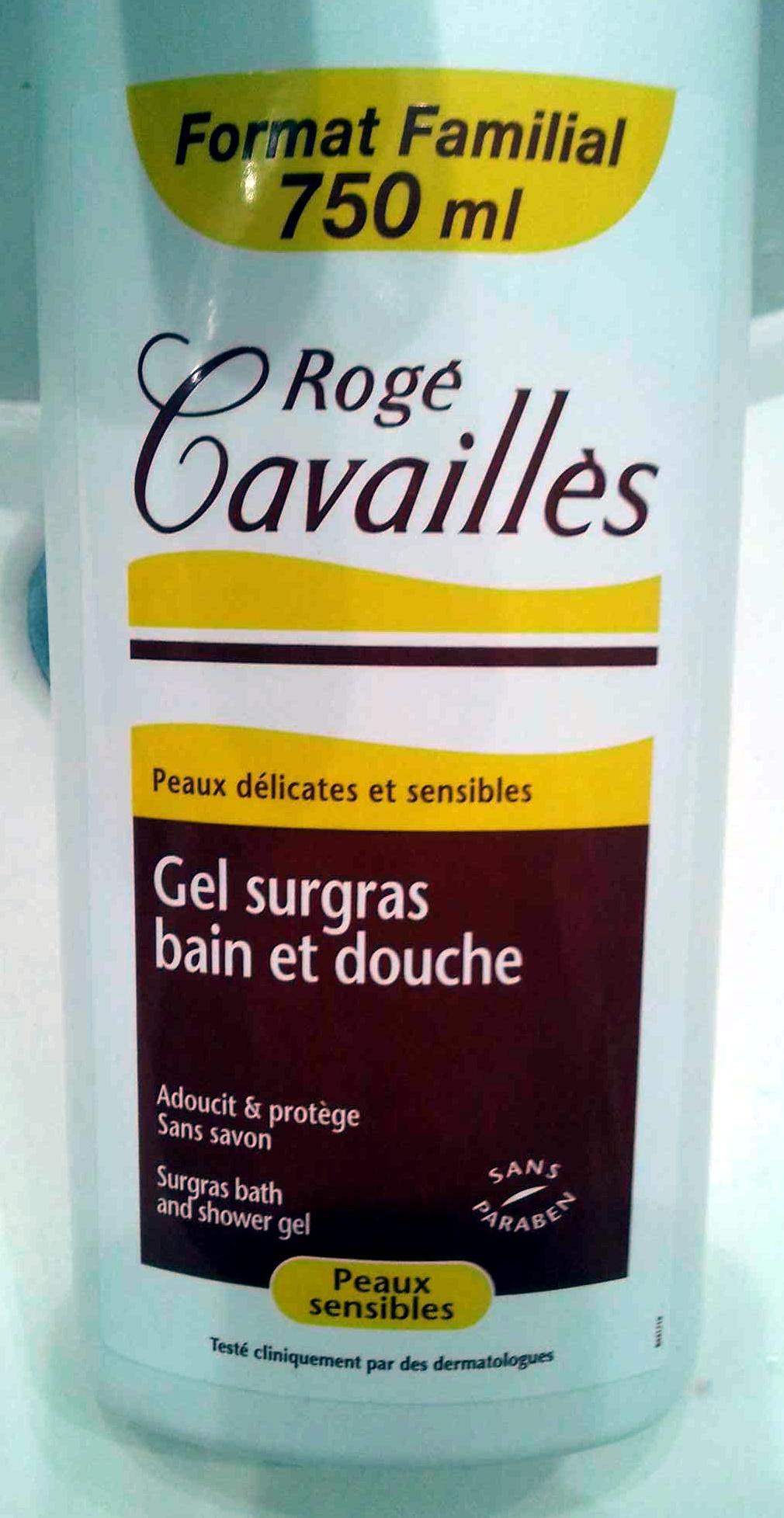 Gel surgras bain et douche - Produit - fr