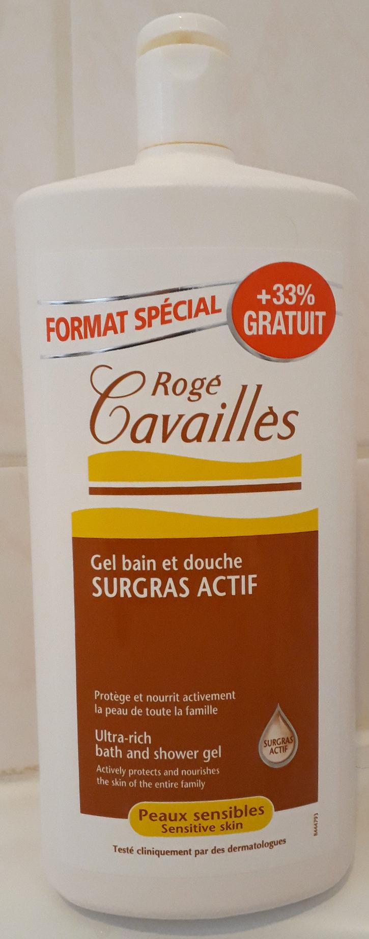 Gel bain et douche surgras actif - Product - fr