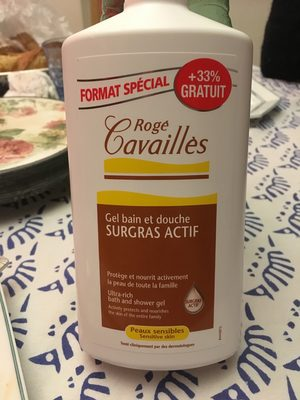 Gel bain douche surgras actif - Produit - fr