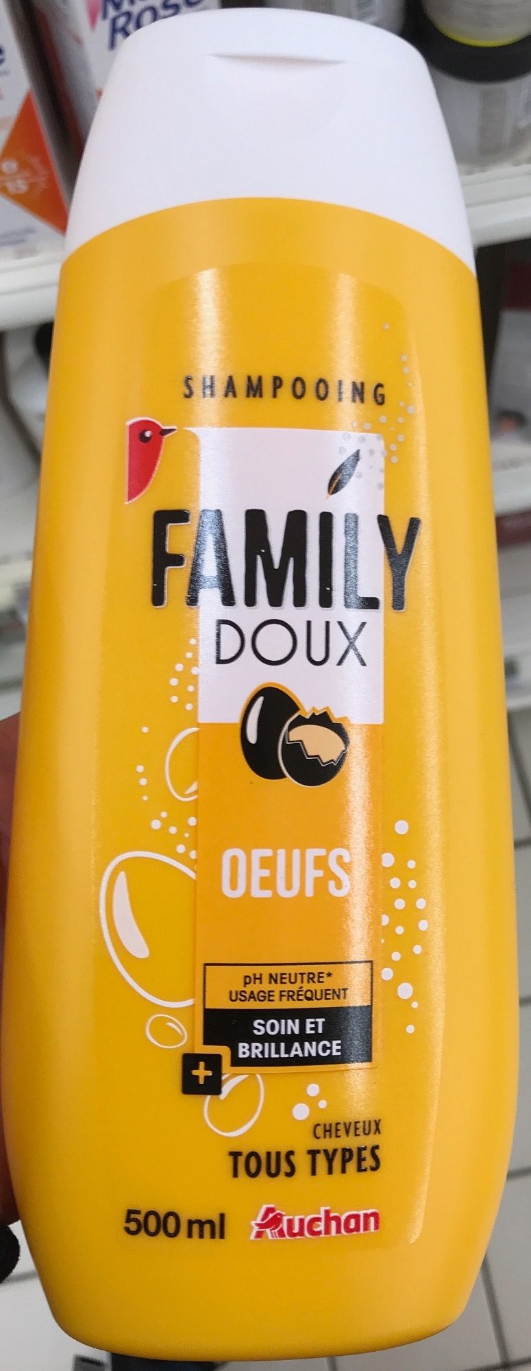 Shampooing Family Doux Oeufs - Product - fr