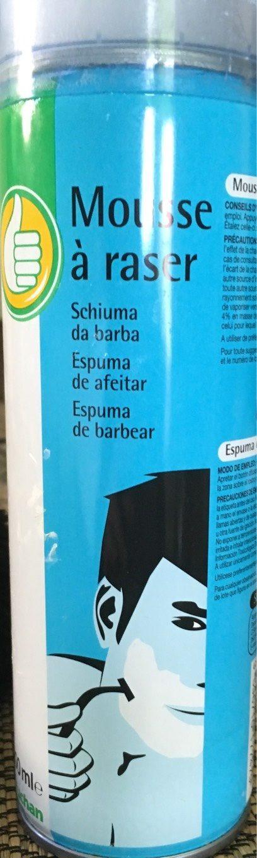 Mousse à raser Auchan - Produit