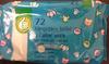 72 lingettes bébé à l'aloe vera - Product