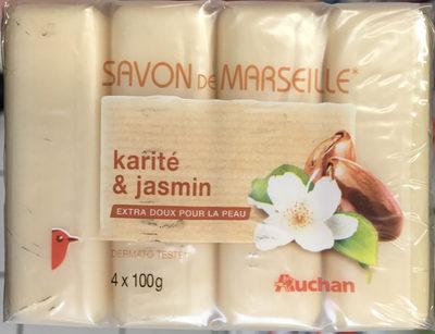 Savon de Marseille Karité & Jasmin - Produit