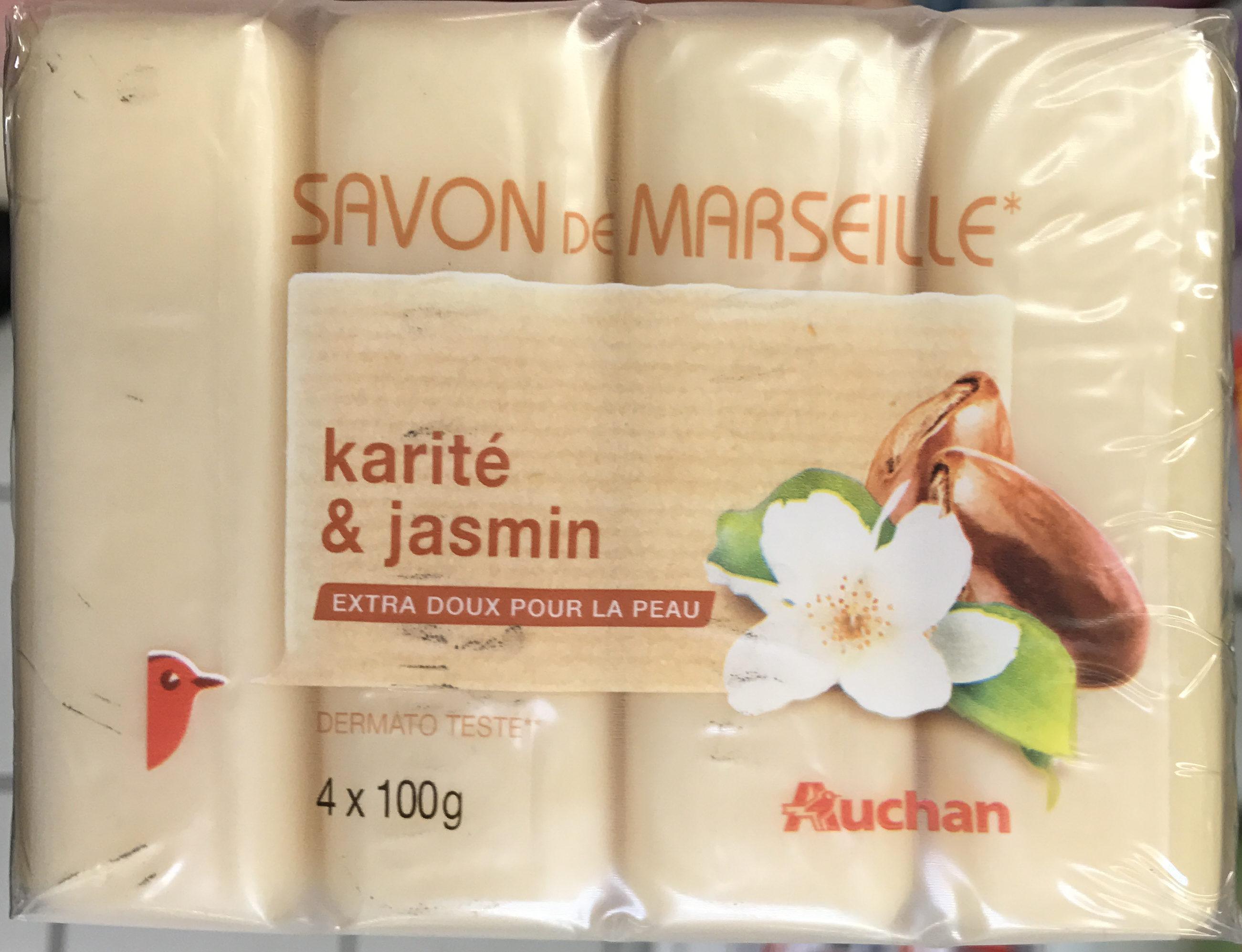 Savon de Marseille Karité & Jasmin - Product - fr