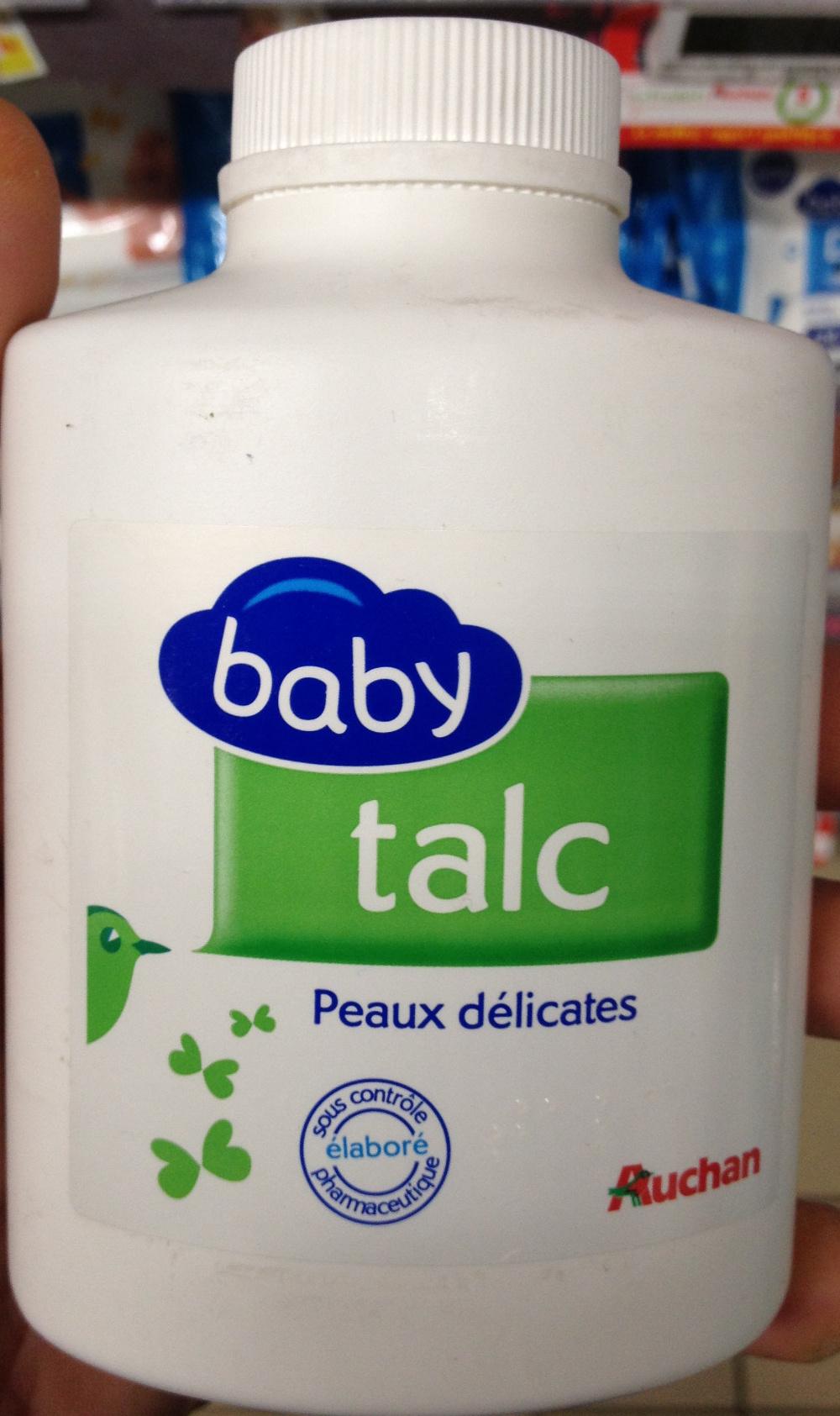 Talc baby peaux délicates - Produit - fr