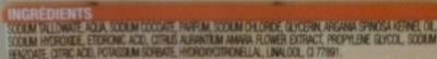 Savon de Marseille fleur d'oranger et argan - Ingredients