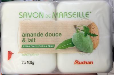 Savon de Marseille Amande douce & lait - Product - fr