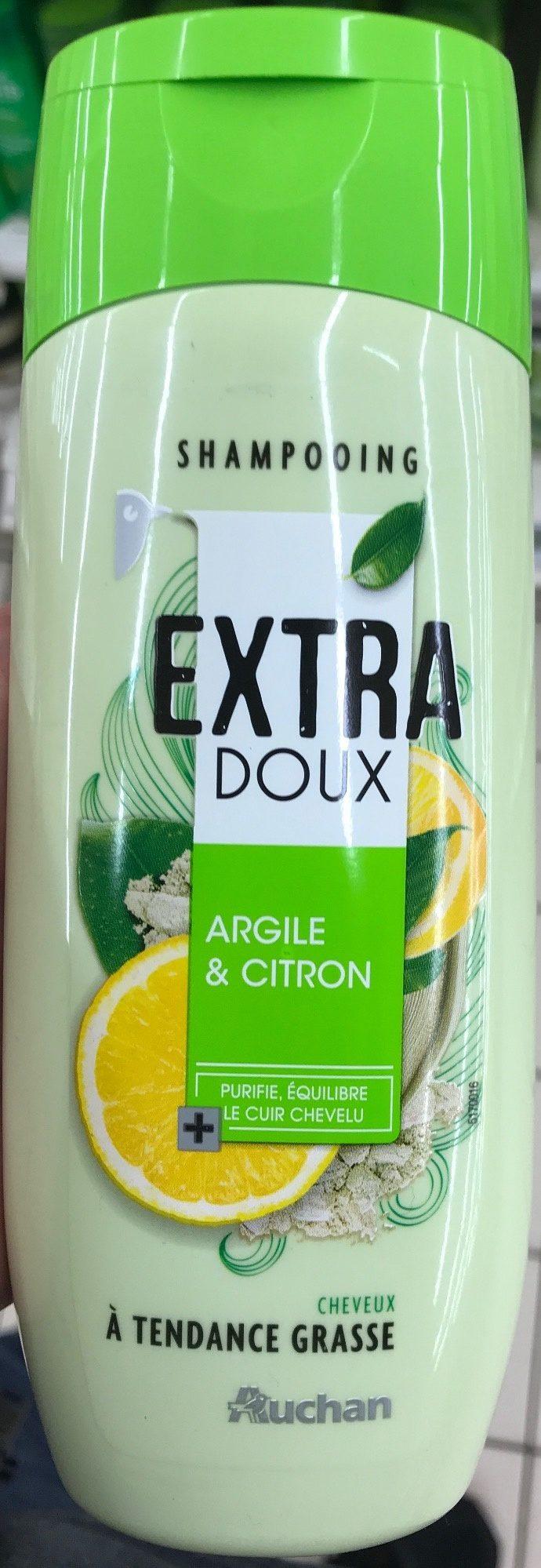 Shampooing extra doux Argile & Citron - Produit