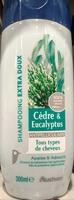 Shampoing extra doux Cèdre & Eucalyptus antipelliculaire - Produit