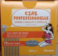 Cire professionnelle parfum vanille - Produit - fr