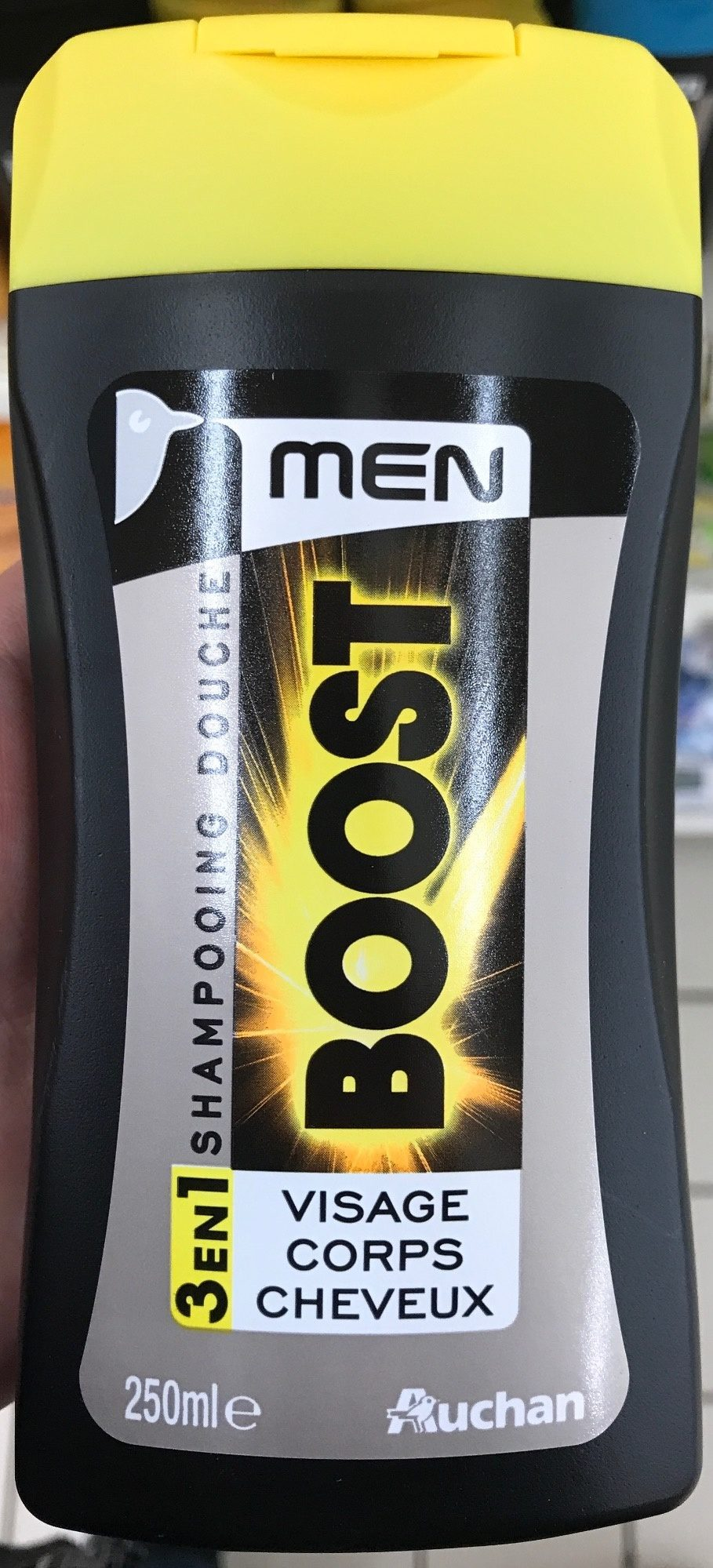 Shampooing douche Men Boost 3 en 1 - Product - fr