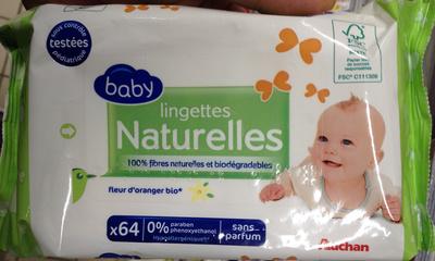 Lingettes naturelles - Product - fr