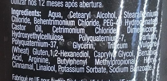 Après-shampooing Expert Soin Extra Resist - Ingredients - fr