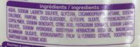 Crème de douche Dermo Protect soin hydratant - Ingredients