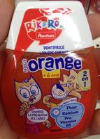 Dentifrice liquide enfant goût orange - Product